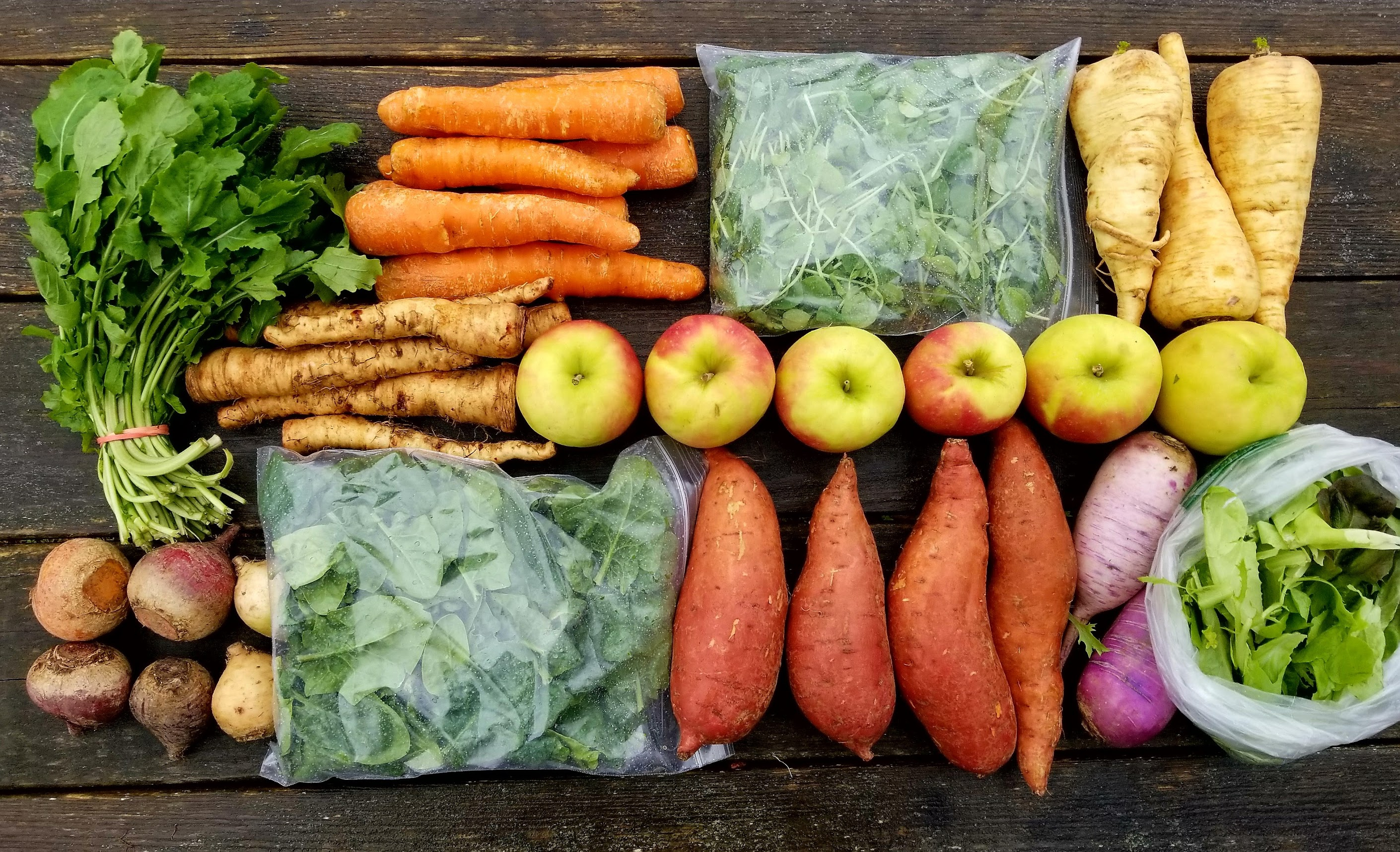 Winter-Spring Produce Share